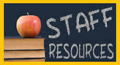 Staff resources clipart
