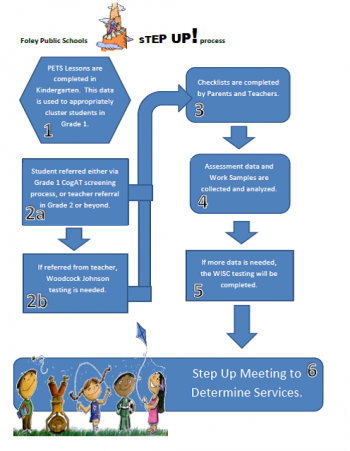 Step up identification flow chart image file