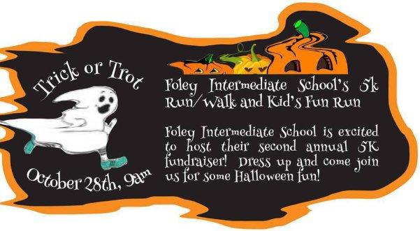 FIS Fundraiser 5K Trick or Trot Walk/Run. Oct. 28th! Register online through the school store.
